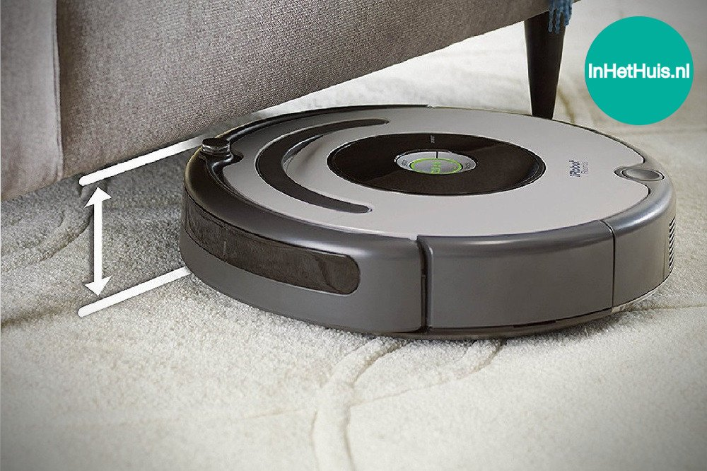 irobot roomba 615 robotstofzuiger review inhethuis. Black Bedroom Furniture Sets. Home Design Ideas