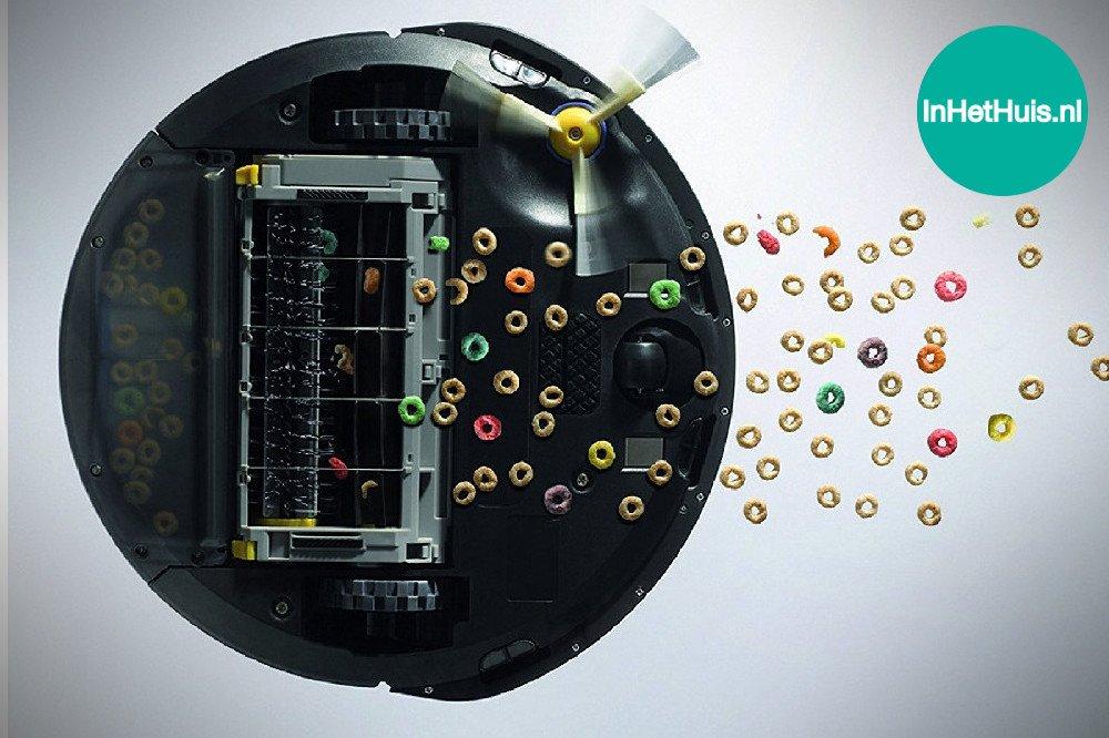 iRobot Roomba 615 Robotstofzuiger Test