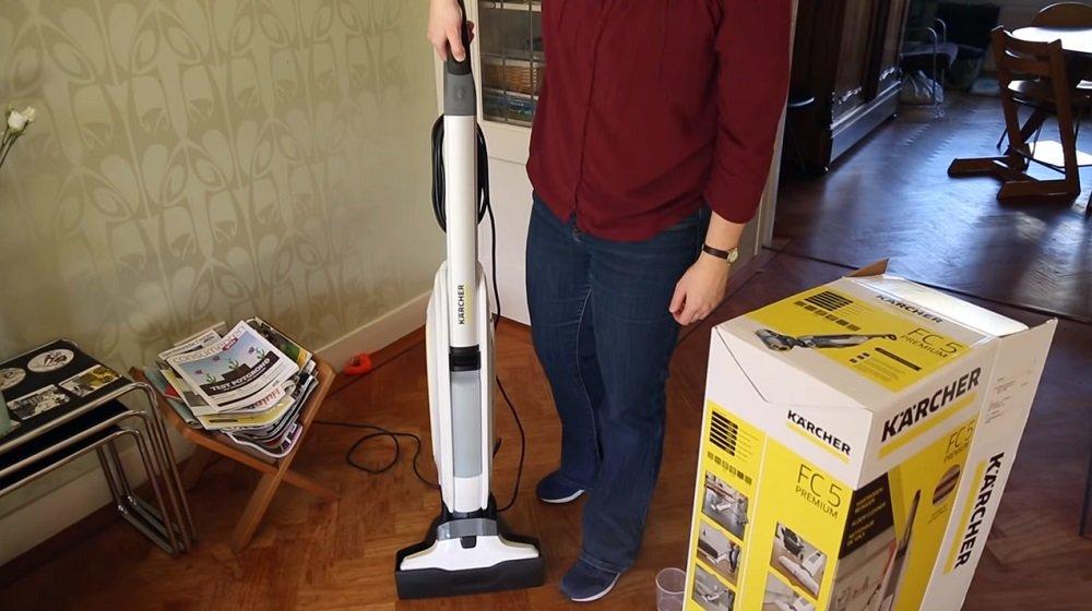 Kärcher Floor Cleaner FC 5 White - Vloerreiniger