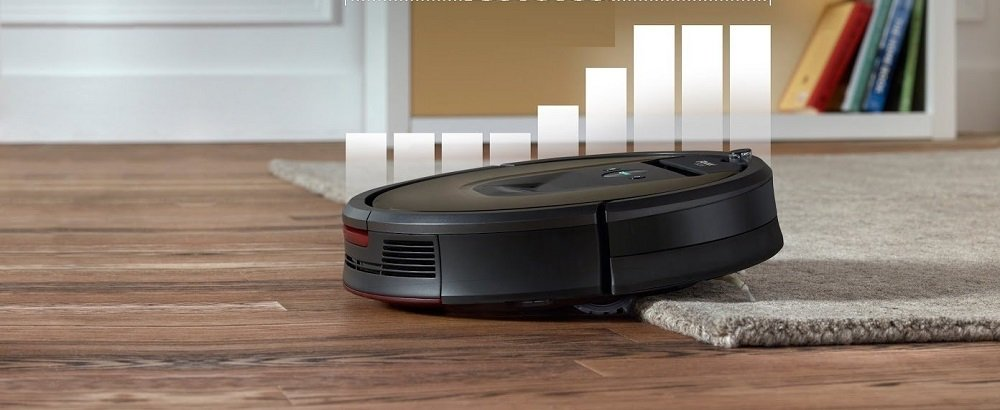 Robotstofzuiger-over-vloerbedekking