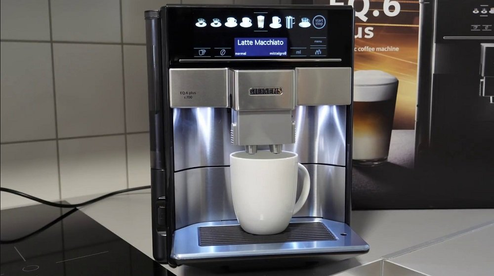 Siemens EQ6 Plus Koffie