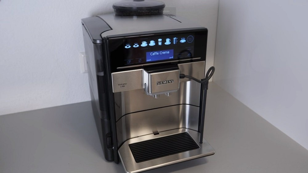Siemens EQ6 Plus TE651209RW Espressomachine
