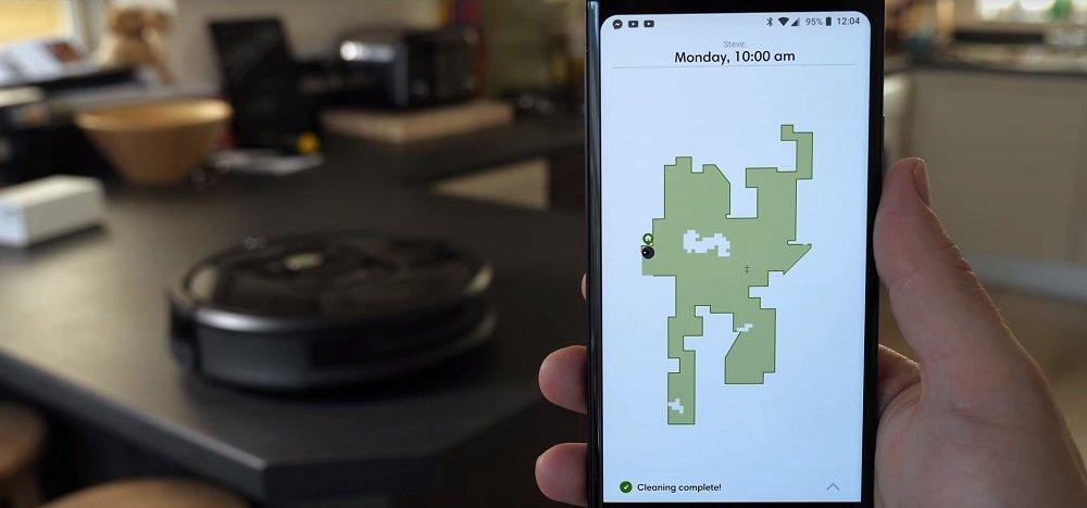Robotstofzuiger Virtuele Muren