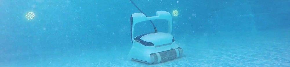 Zwembadrobot test