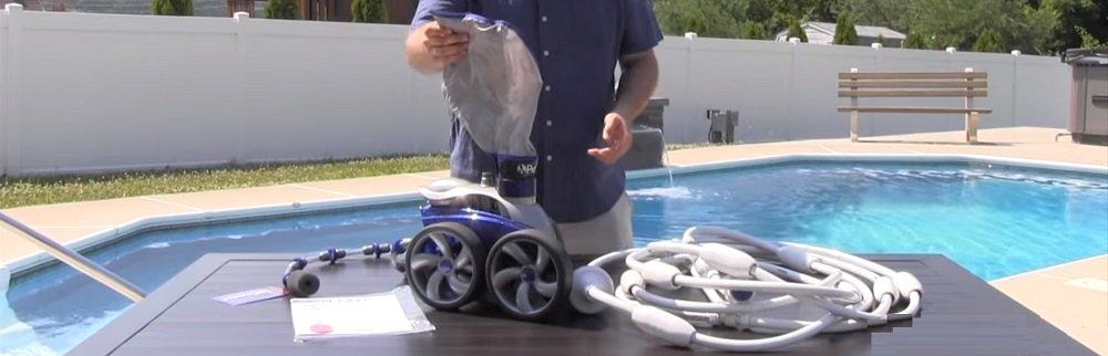 hydraulische zwembadreinigers